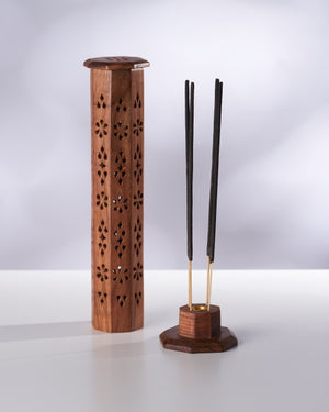 Precious Wood Incense Tower