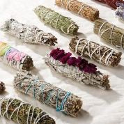 White Sage + Rose Sacred Smoke Stick