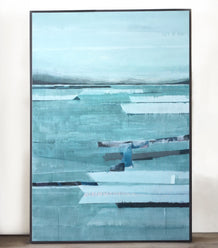 Stefan Gevers original artwork - LAKESIDE _ Canvas