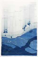 Stefan Gevers - Watercolour - 'The 7 - Blue River Series
