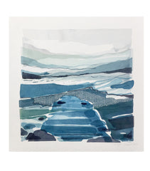 Stefan Gevers - Winterscapes 1 - Small Watercolour