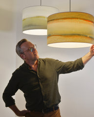 Illuminated Canvasses - Pendant Lights