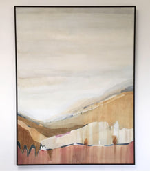 original artwork - GOLDEN PLAINS _ Canvas