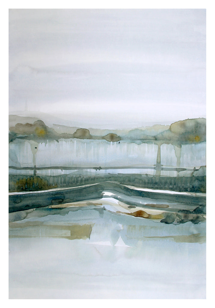 Stefan Gevers - Cascade - Watercolour