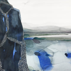 Stefan Gevers From Above - Original Watercolour