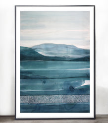 "Stefan Gevers ""Sea Green"" - Original Watercolour"