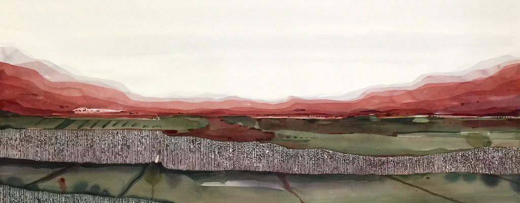 Stefan Gevers -Form of a line - Watercolour