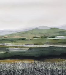 CONTEMPORARY WATERCOLOUR LANDSCAPE | Canberra | 4 April