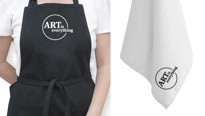 Artist Apron and Tea Towel - Art is Everything