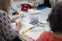 WATERCOLOUR CONTEMPORARY ART CLASS | FRIDAY 10AM - 12PM | 3 May | 7 WEEKS
