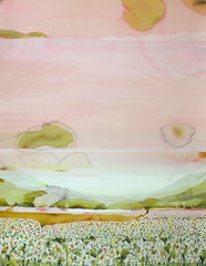 "Stefan Gevers ""Distant Lake"" - Original Watercolour"