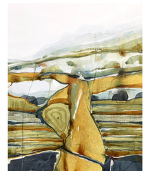 "Stefan Gevers  ""After the rain"" - Original Watercolour"