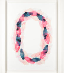 Stefan Gevers edition print - Pink circle A2