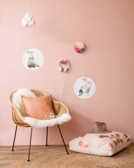 FORUU Wall Hook - Large Pink