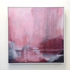 Stefan Gevers  - Pink Storm SOLD- Commissions available