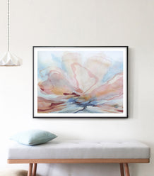 Contemporary Botanic Print - Bloom