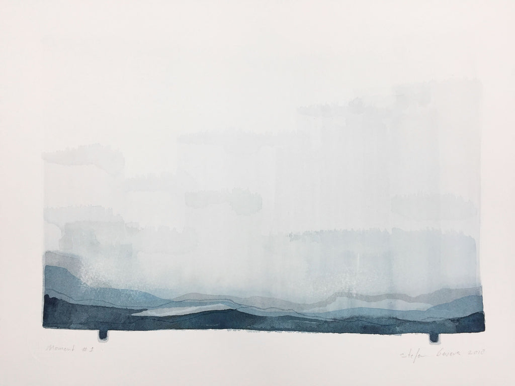 Stefan Gevers - Memory #1 - Small Watercolour