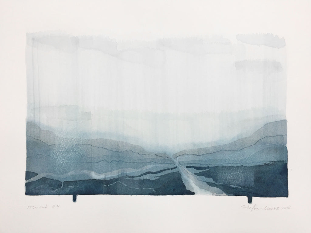 Stefan Gevers - Memory #4 - Small Watercolour SOLD