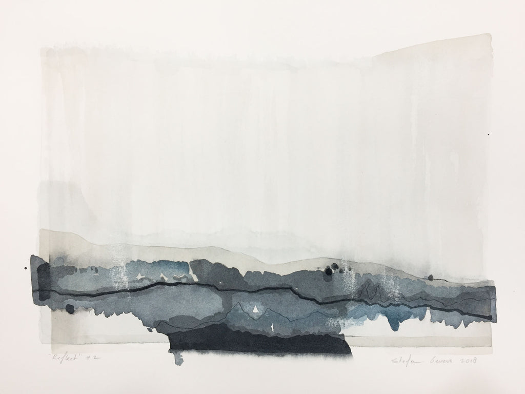 Stefan Gevers - Reflect #2 - Small Watercolour