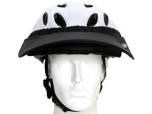 Load image into Gallery viewer, Da Brim Rezzo helmet visor in black. Front view