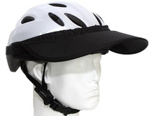 Load image into Gallery viewer, Da Brim Rezzo helmet visor in black. Angled right front view.
