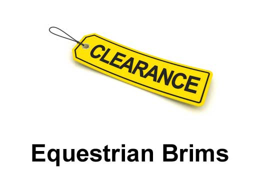 Outlet Sale!: Equestrian Brims