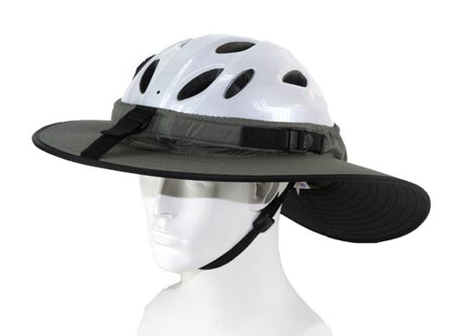 Da Brim Cycling Classic in Gray Photo. Angled front view