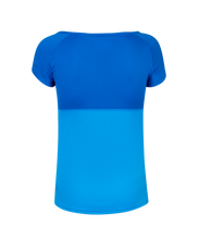 Laden Sie das Bild in den Galerie-Viewer, Play Cap Sleeve Top Blue Aster