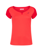 Laden Sie das Bild in den Galerie-Viewer, Play Cap Sleeve Top Tomato Red