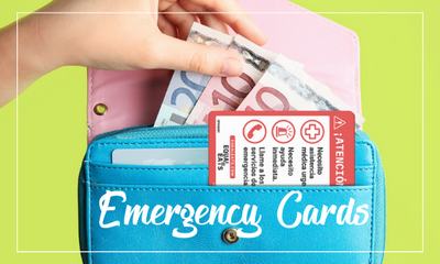 Allergy Bracelets and Emergency Cards