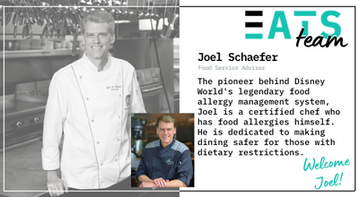 Welcome Chef Joel Schaefer – Our New Advisor