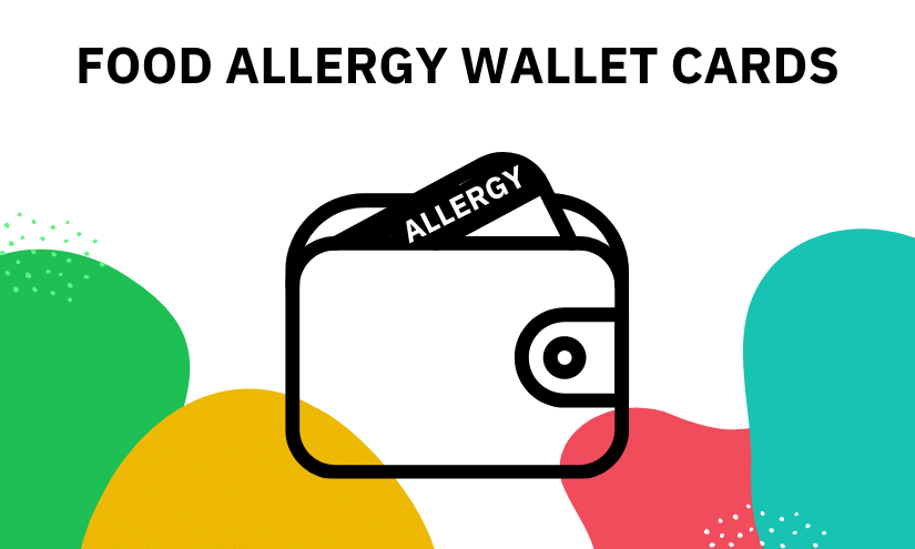 Food Allergy Card for Wallet
