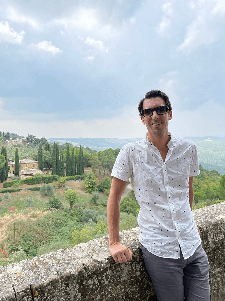 Kyle Dine Equal Eats Dining in Italy