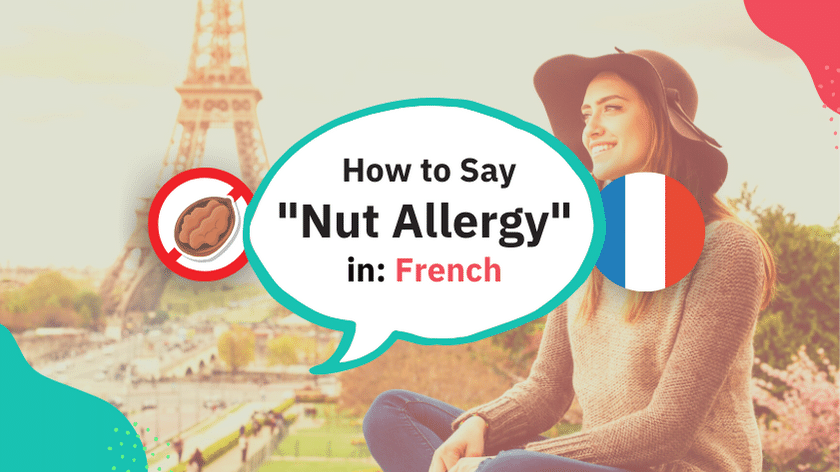 Tree Nut Allergy in French