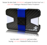 3K Carbon Slim Wallet ORIGINAL & Visitenkarten-Etui (2x1mm Ultra-Dünn) - MakakaOnTheRun