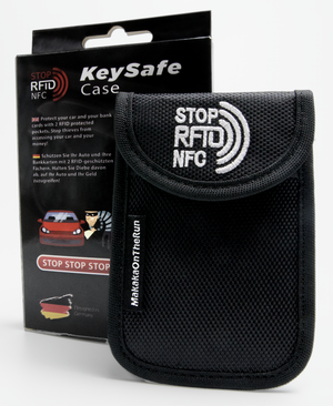 KeySafe Case Autoschlüssel-Etui (Keyless-Go Blocker) - Makaka On The Run