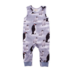 Walkiddy - Dungarees - Penguin Family