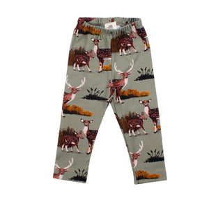 Walkiddy - Leggings - Deer Family