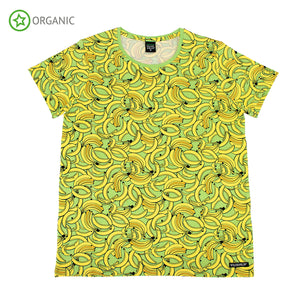 Villervalla - Short Sleeve Tshirt ADULT - Banana