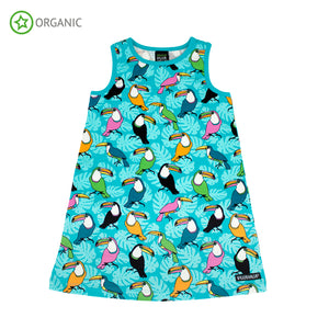 Villervalla - Racerback Dress - Toucan Reef
