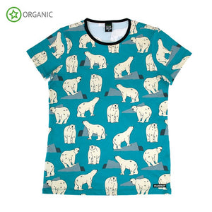 Villervalla - Short Sleeve Tshirt ADULT - Polar Bear