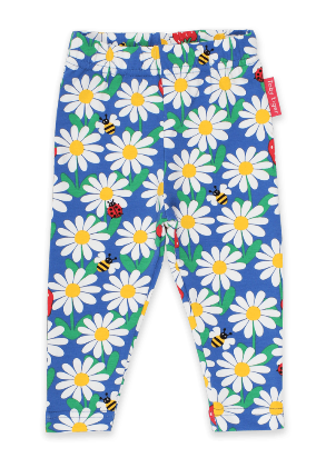Toby Tiger - Leggings - Blue Daisy