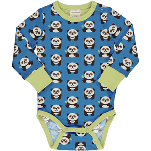 Maxomorra - Long Sleeve Body - Playful Panda