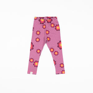 Alba baby - Haniella Leggings - Bordeaux Flower Power Love