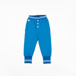 Alba baby - Hai Button Pants - Snorkel Blue