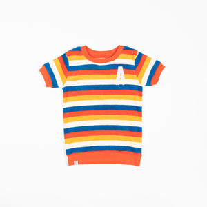 Alba baby - Roy T-shirt - Bright Gold Rainbows after Rain
