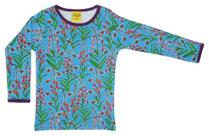 DUNS - ADULT Long Sleeve Top - Willowherb Blue