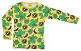 DUNS - ADULT Long Sleeve Top - Chestnut Daffodil Yellow