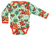 DUNS - Long Sleeve Bodysuit - Rowanberry Green