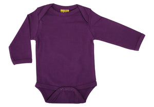 MTAF - Long Sleeve Bodysuit - Dark Purple